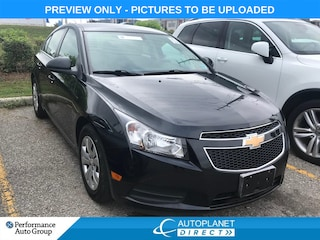 2014 Chevrolet Cruze 1LT, OnStar, Bluetooth, Ontario Vehicle! Sedan