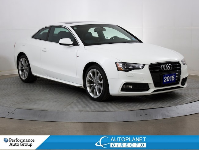 2015 Audi A5 Quattro, Komfort, S Line, Navi,Back Up Cam! Coupe