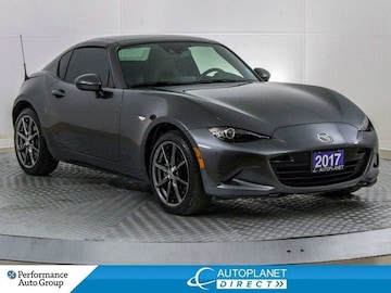 2017 Mazda MX-5 Retractable Fastback GT, Navi, Heated Front Seats, Bluetooth! Coupe