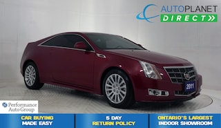 2011 Cadillac CTS 4, Sunroof, Memory Seat, Onstar, Bluetooth! Coupe