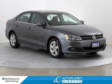 2013 Volkswagen Jetta TDI, Comfortline, Sunroof, Heated Seats! Sedan
