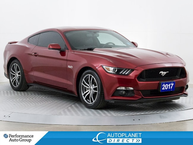 2017 Ford Mustang GT, Navi, Heated Seats, Remote Start! Coupe