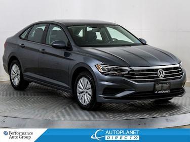 2019 Volkswagen Jetta Turbo, Comfortline, Back Up Cam, Heated Seats! Sedan