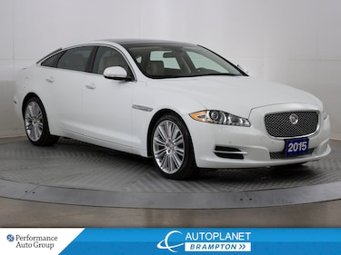 2015 Jaguar XJ  XJL Portfolio AWD, Navi, Sunroof! Sedan