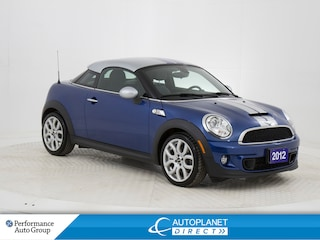 2012 MINI Cooper S Coupe, New All Season Tires, Bluetooth! Coupe