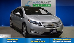 2012 Chevrolet Volt Electric Navi, Clean Carproof, Electric Plug In!