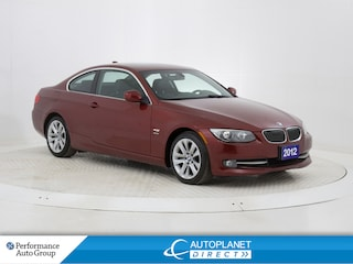 2012 BMW 328i xDrive, Navi, Sunroof, Heated Seats, Bluetooth! Coupe
