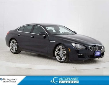 2014 BMW 6 Series 640i xDrive, Exec + M Sport + Tech Pkg, Navi! Sedan