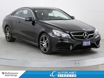 2016 Mercedes-Benz E-Class E400 4MATIC, Navi, 360 Cam, Heated Seats! Coupe