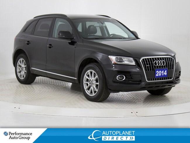 2014 Audi Q5 2.0 Quattro, Komfort, Heated Seats! SUV