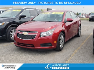 2014 Chevrolet Cruze 1LT, Keyless, Bluetooth, Clean Carproof! Sedan