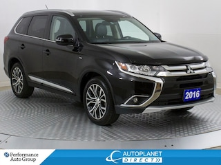 2016 Mitsubishi Outlander GT 4x4, Navi, Sunroof, Leather, Bluetooth! SUV
