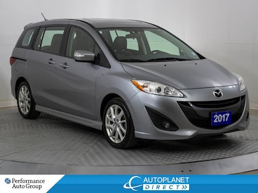 2017 Mazda Mazda5 GT, Heated Seats, Alloys, Bluetooth! Wagon
