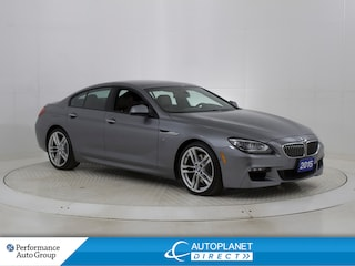 2015 BMW 640i Gran Coupe xDrive, M-Sport + Executive Tech Pkg, Navi! Sedan