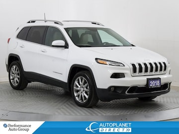 2018 Jeep Cherokee Limited, SafetyTec Grp, Heated Seats, Back Up Cam! SUV