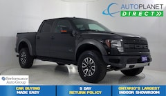 2012 Ford F-150 SVT Raptor 4x4, Navi, Moon Roof, Cargo Cover! Truck SuperCrew Cab