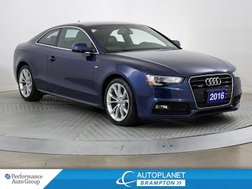 2016 Audi A5 Quattro, Komfort, Sunroof, Bluetooth! Coupe