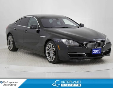 2015 BMW 650i Gran Coupe Sedan xDrive, Navi, Back Cam, Moon Roof! Sedan