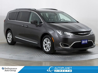 2018 Chrysler Pacifica Touring-L Plus, U-Connect Theatre Grp, Pano Roof! Van Passenger Van
