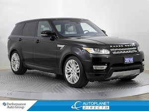 2016 Land Rover Range Rover Sport HSE Supercharged 4x4, Navi, Pano Roof!