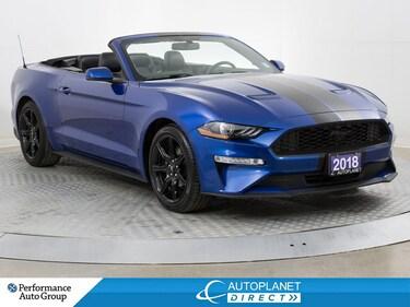 2018 Ford Mustang EcoBoost Premium, Convertible, Navi, AppleCarPlay! Convertible
