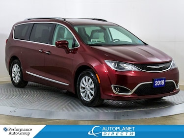 2018 Chrysler Pacifica Touring-L Plus, Trailer Tow Grp, Navi, U Connect! Van Passenger Van