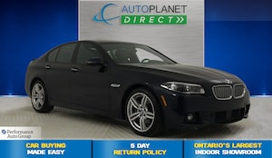 2014 BMW 550i xDrive, M Sport + Tech Pkg, Navi, Heads Up Display