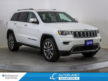 2018 Jeep Grand Cherokee Limited 4x4, Back Up Cam, U-Connect 4C, $126/Week! SUV