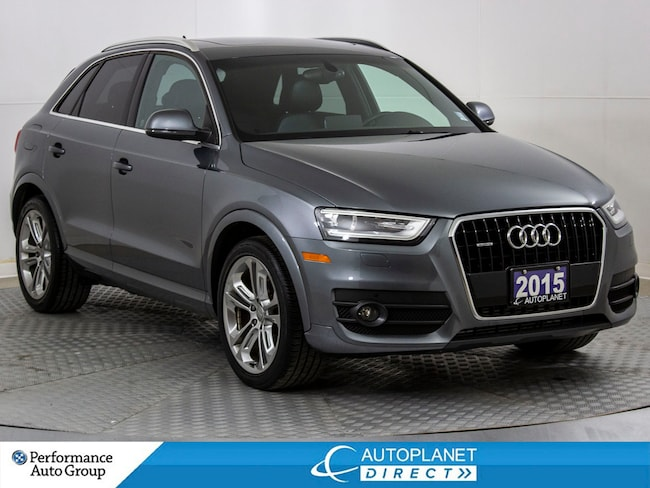 2015 Audi Q3 Quattro, Technik, Navi, Pano Roof, Back Up Cam! SUV