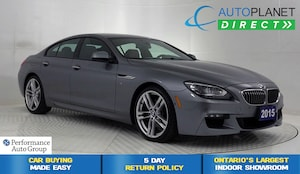 2015 BMW 640i Gran Coupe xDrive, M-Sport + Executive Tech Pkg, Navi!