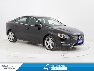 2016 Volvo S60 T5 Special Edition Premier AWD, Navi, Moon Roof! Sedan