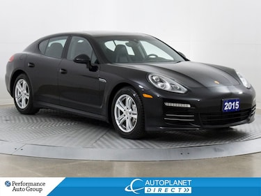 2015 Porsche Panamera 4S AWD, Sunroof, Clean Carfax, Ontario Vehicle! Sedan
