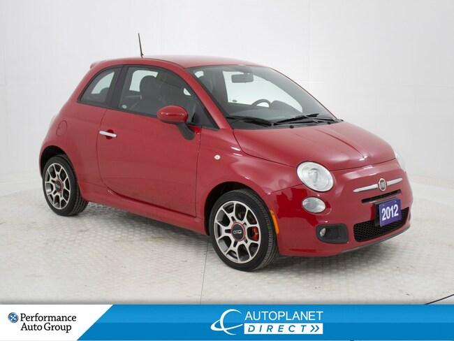 2012 Fiat 500 Sport, Bluetooth, Ontario Vehicle, Clean Carproof! Hatchback