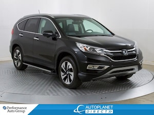 2015 Honda CR-V Touring AWD, Navi, Sunroof, Back Up Cam!
