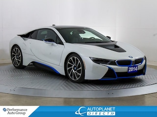 2014 BMW i8 E Drive, Navi, 360 Cam, Ceramic Coating! Coupe