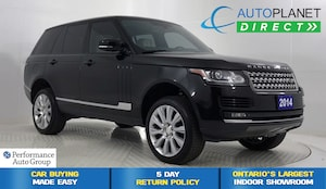 2014 Land Rover Range Rover 5.0L V8 Supercharged 4x4, Navi, Sunroof!