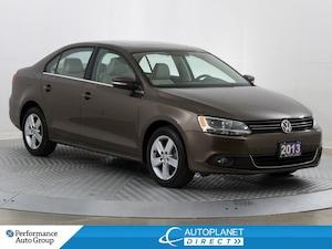 2013 Volkswagen Jetta TDI, Comfortline, Sunroof, Heated Seats, Bluetooth