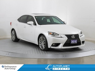 2016 LEXUS IS 300 AWD, Navi, Sunroof, Cooled Seats, Memory Seat! Sedan