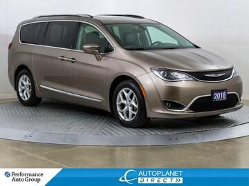 2018 Chrysler Pacifica Touring-L Plus, U-Connect Theatre + Tire&Wheel Grp Van Passenger Van