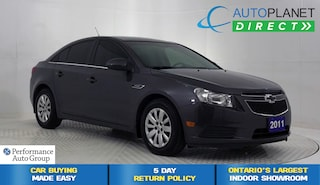 2011 Chevrolet Cruze LT Turbo, Clean Carproof, Ontario Vehicle! Sedan