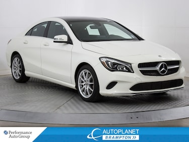 2018 Mercedes-Benz CLA 250 4MATIC, Navi, Back Up Cam, Sunroof! Coupe