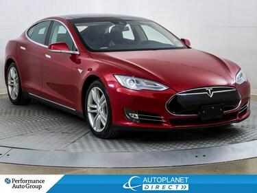 2015 Tesla Model S 85D, Navi, Sunroof, Back Up Cam, Remote  Start! Hatchback