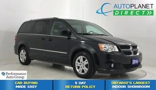 2016 Dodge Grand Caravan Crew, Ontario Vehicle, Alloys, Keyless! Minivan