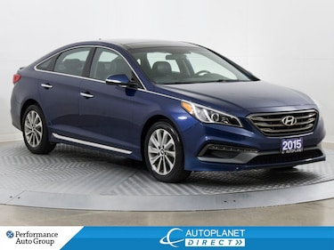 2015 Hyundai Sonata Sport, Pano Roof, Back Up Cam, New Tires! Sedan
