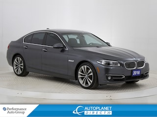 2016 BMW 535d xDrive, Navi, Moon Roof, Back Up Cam, Bluetooth! Sedan