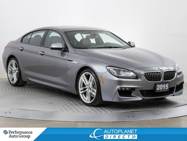 2015 BMW 640i Gran Coupe xDrive, M-Sport + Exec. Tech Pkg, Navi! Sedan