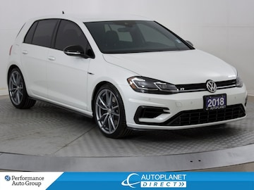 2018 Volkswagen Golf R AWD, Navi, Back Up Cam, Android Auto! Hatchback