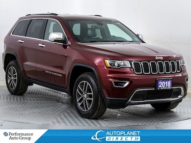 2018 Jeep Grand Cherokee Limited 4x4, Google Android, Remote Start! SUV