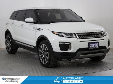 2016 Land Rover Range Rover Evoque HSE 4x4, 360 Cam, Heated Seats, Moon Glass!  SUV