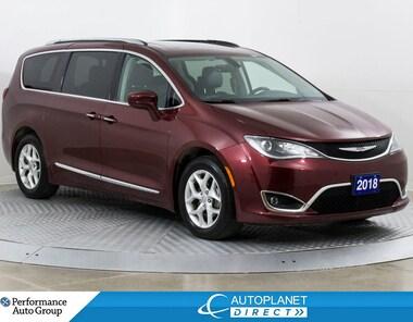 2018 Chrysler Pacifica Touring-L Plus, 7 Pass, Pano Roof, Leather! Van Passenger Van